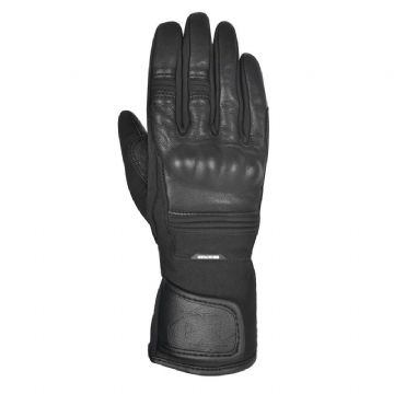 New Oxford Calgary 1.0 Waterproof Womens Motorcycle Glove Stealth Black